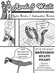 Der Wurstcomic von Leser Andi N. aus unserer Sonderausgabe.